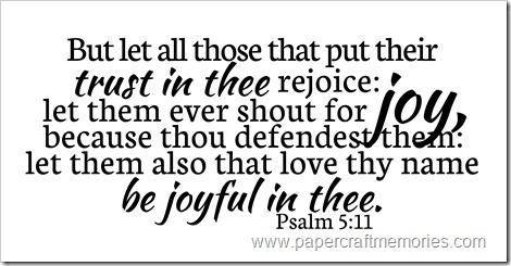 Salmo 5.11