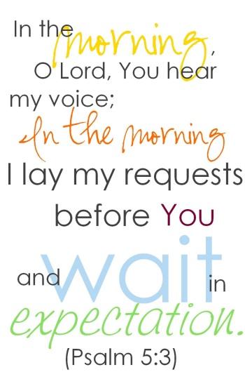 Salmo 5.3