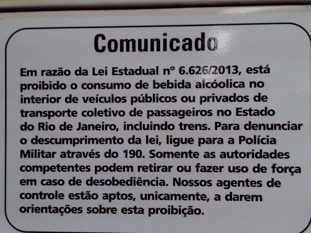 Proibição de bebidas