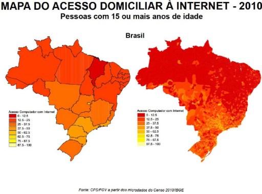 mapa internet 2010