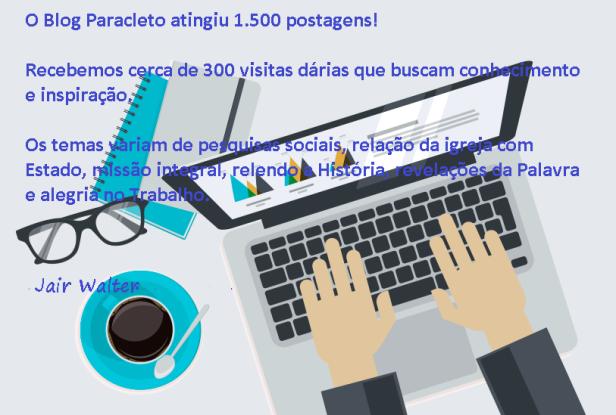 15 mil posts Paracleto