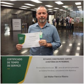 Jair - 30 anos Petrobras